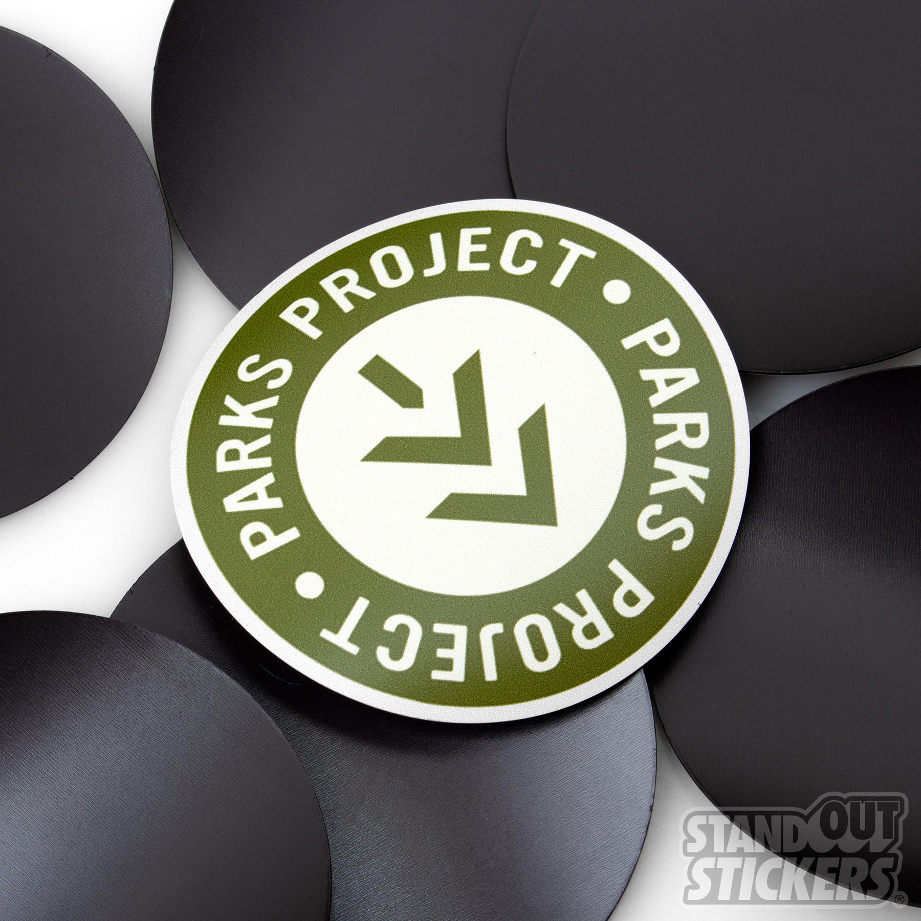 Parks Project Circle Magnets