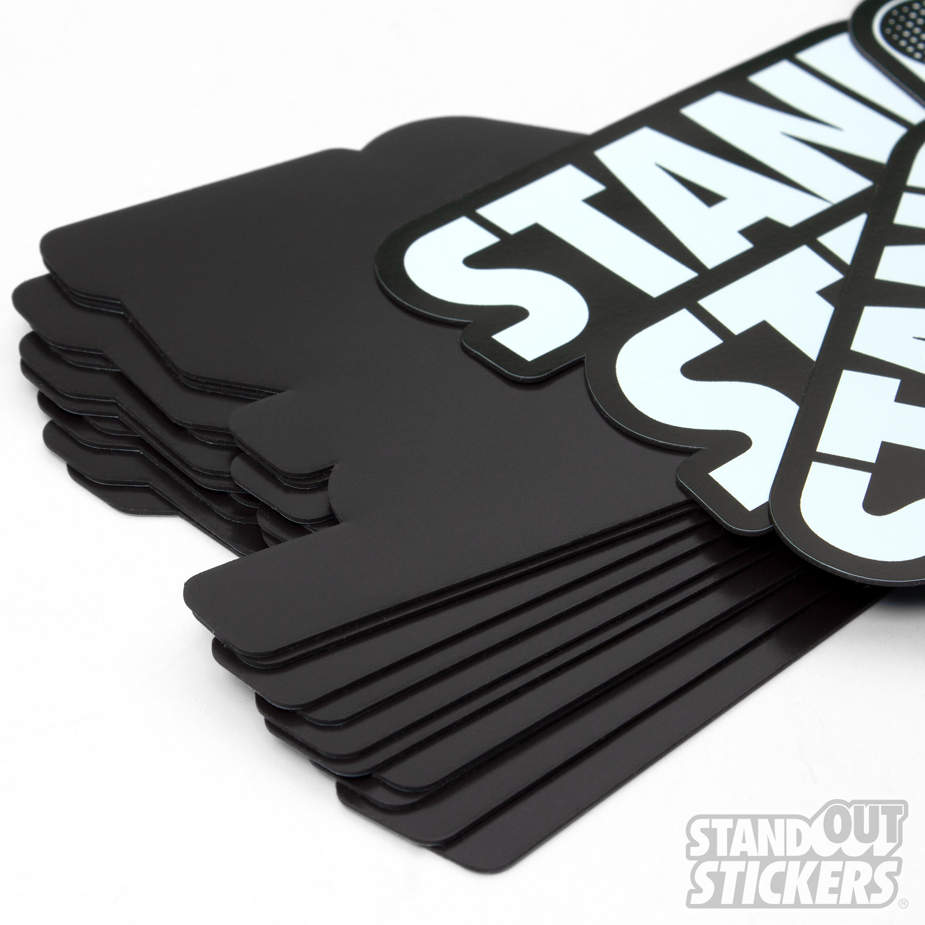 Die Cut Logo Magnets