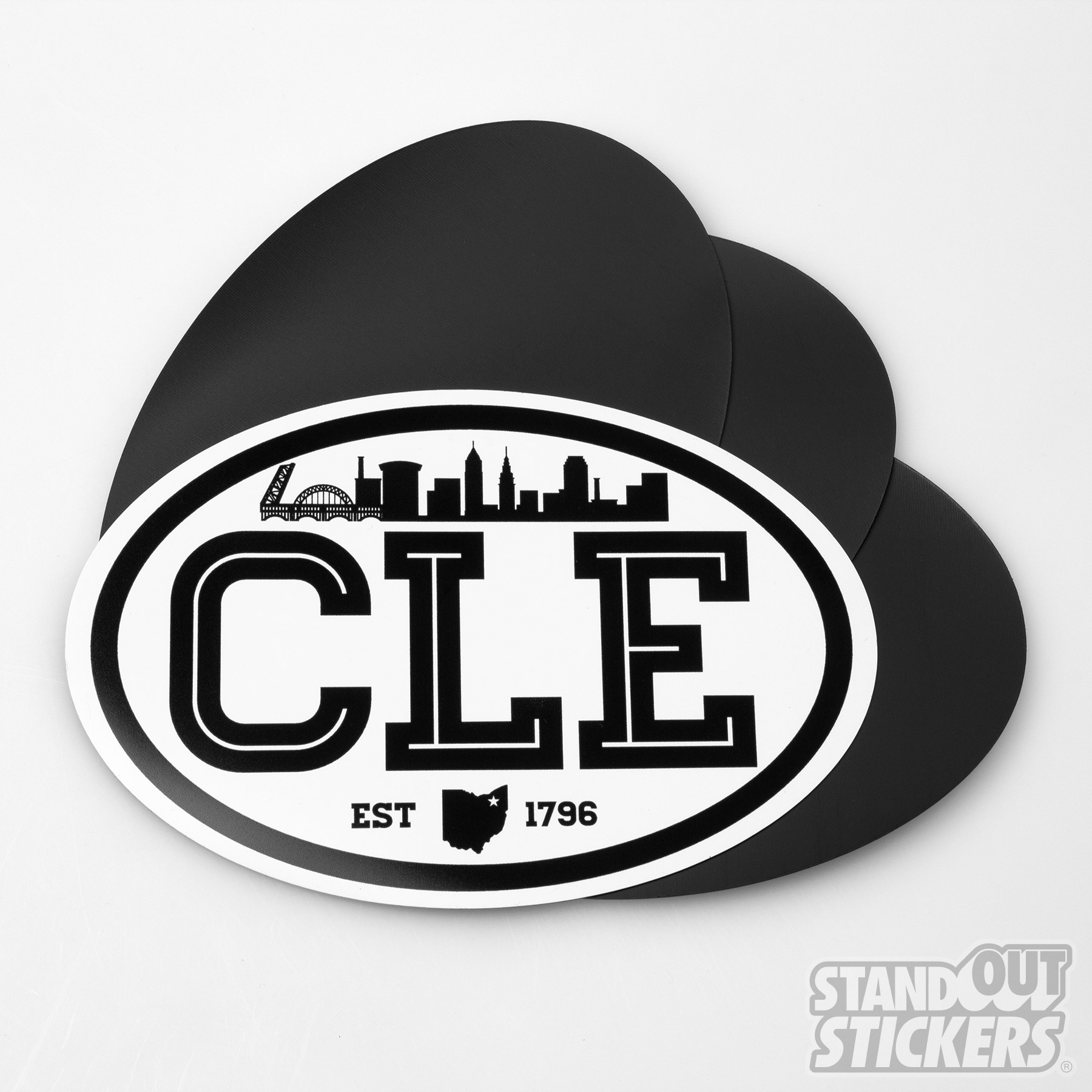 Oval Magnets for CLE Clothing Company