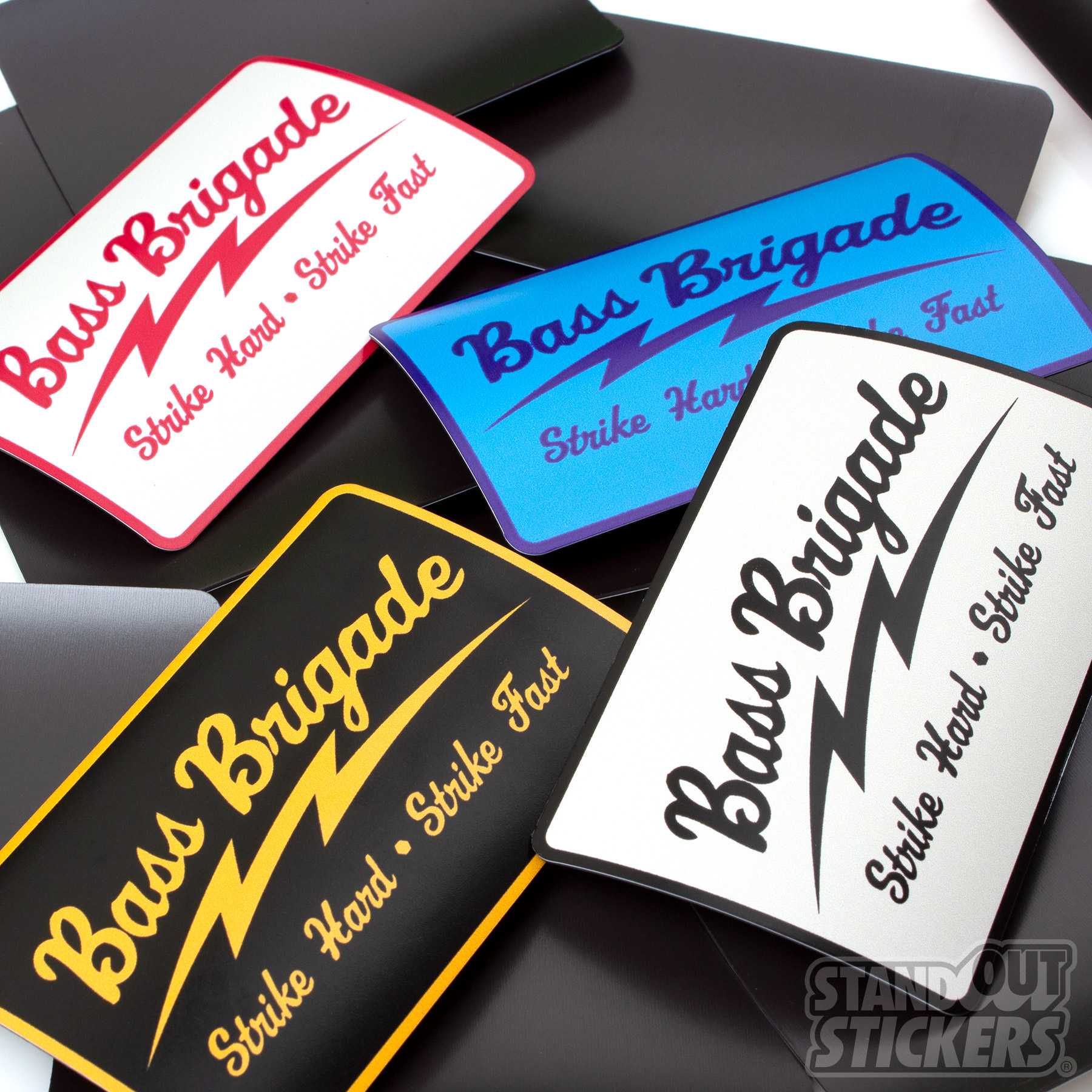 Rectangle Magnets for Bass Brigade